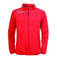 Veste Coupe-vent Stream 3 rouge/blanc Uhlsport