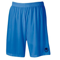 Short de football Center Basic II bleu azur Uhlsport