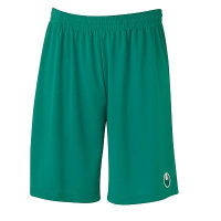 Short de football Center Basic II vert lagon Uhlsport