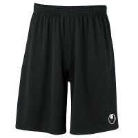 Short de football Center Basic II noir Uhlsport