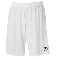Short de football Center Basic II blanc Uhlsport
