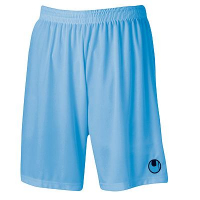 Short de football Center Basic II bleu ciel Uhlsport