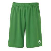 Short de football Center Basic II vert Uhlsport