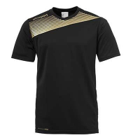 Maillot de football Liga 2.0 noir/or Uhlsport