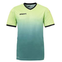 Maillot de football Division vert flash/vert lagon Uhlsport