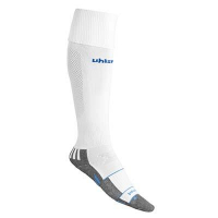 Chaussettes de football Team Pro Player blanc/bleu azur Uhlsport