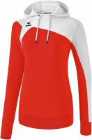 COUPE FEMME ! Sweat à capuche Club 1900 2.0 rouge/blanc Erima