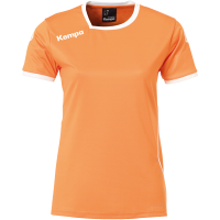 COUPE FEMME ! Maillot de handball Curve orange/blanc Kempa