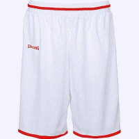 Short de basket Move blanc/rouge Spalding