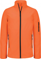 VESTE SOFTSHELL ORANGE FLUO