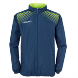 Veste COUPE VENT UHLSPORT GOAL pétrole/vert flash