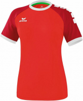 Maillot de football Maillot Zenari erima femme rouge/ruby red/blanc