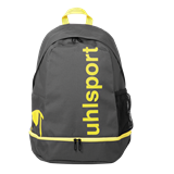 Sac à dos essential 3.0 anthracite/jaune fluo Uhlsport