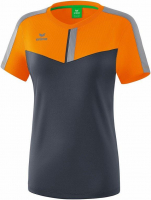 Tee-shirt femme Maillot femme Erima squad new orange/slate grey/