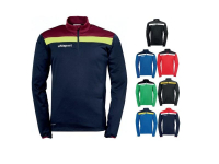 Sweat offense Uhlsport marine/bordeaux/jaune fluo