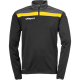 Sweat Uhlsport offense noir-gris-jaune citron