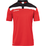 Polo homme Polo Uhlsport offense rouge-noir-blanc