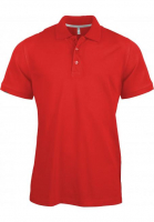 Polo homme Polo manches courtes K241 rouge