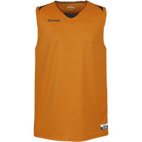 Maillot de basket Attack orange/noir Spalding
