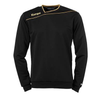 Sweat de handball Gold noir/or Kempa