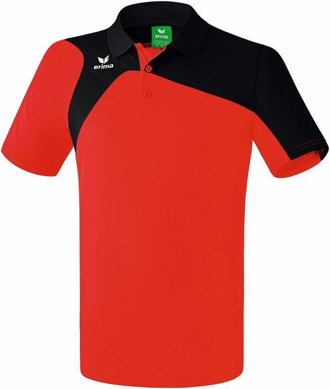 NOUVEAU ! Polo Club 1900 2.0 rouge/noir Erima