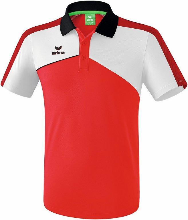 Polo Erima premium 2.0 rouge/blanc/noir -