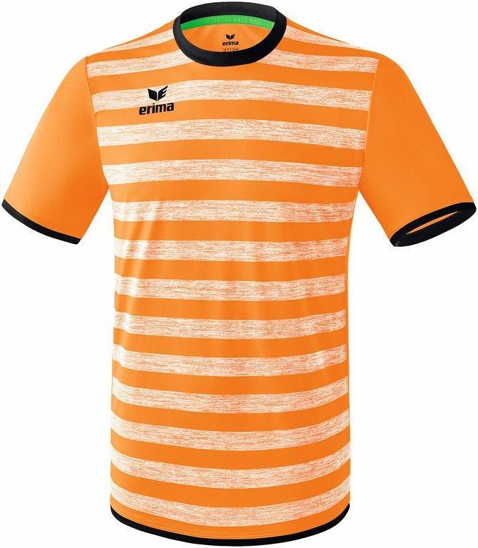 33d531a39a6 Maillot Barcelona Erima orange fluo noir - Génération Sport