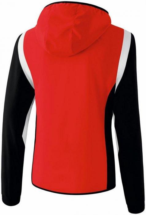 Veste survetement rouge femme
